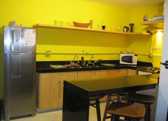 cozinha hostel rio de janeiro