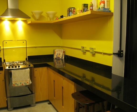 cozinha contemporaneo hostel