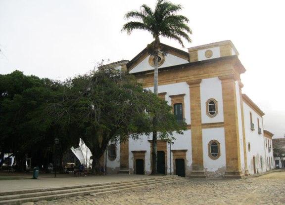 igreja principal de paraty