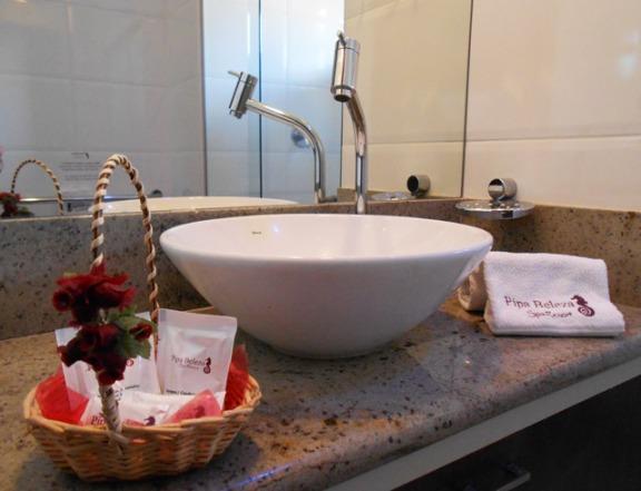 banheiro de resort
