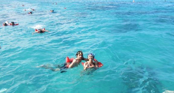 blogueiro de mergulho
