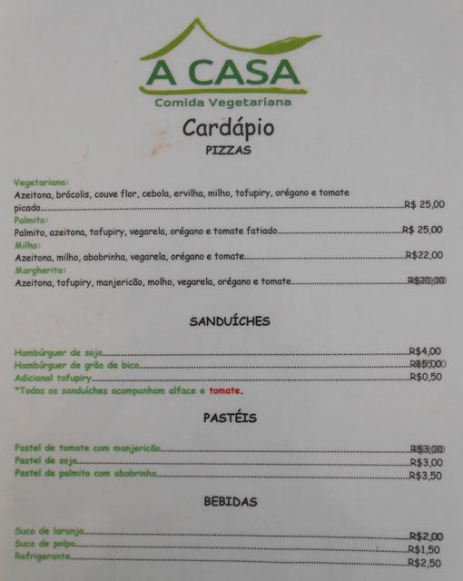 Agora Restaurant Menu