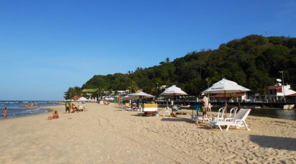 praia do cento pipa