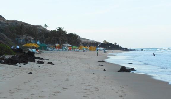 praia tibau do sul