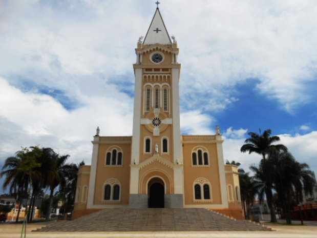 igreja principal de araxa