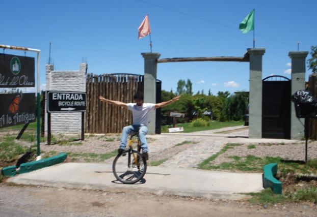 manobra em bicicleta