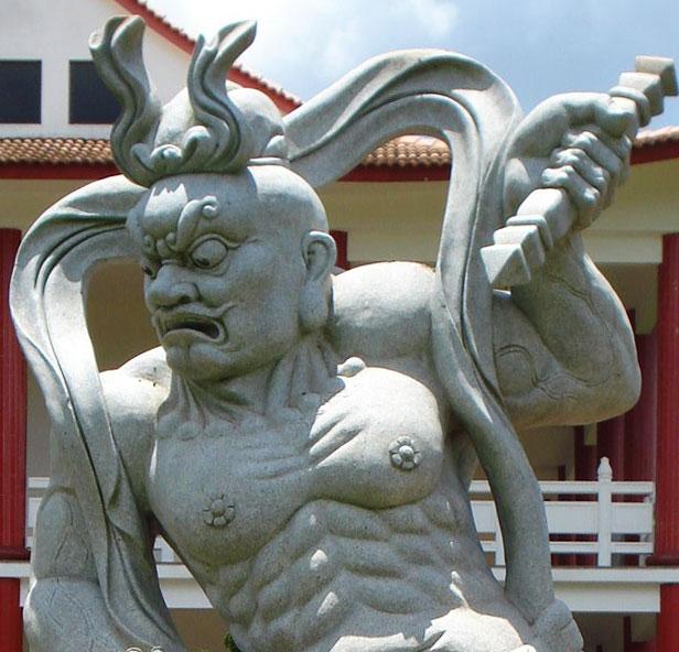 estatura budista