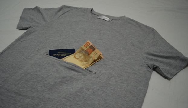 Camisa Clever Travel Companion