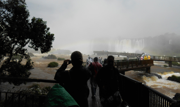 trilha cataratas do iguaçu
