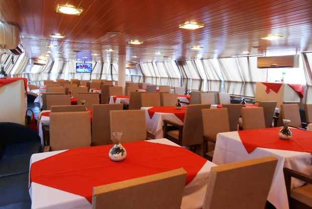 restaurante do barco