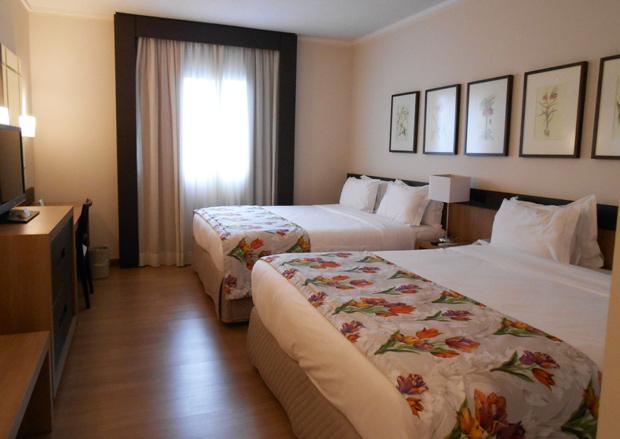 quarto do resort em foz do iguacu