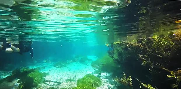 Flutuação | Rio Sucuri