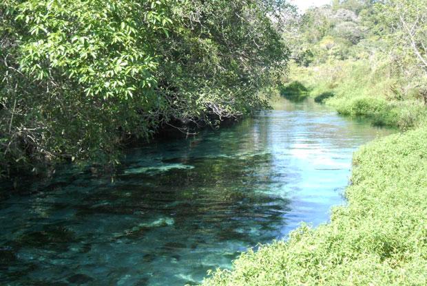 margem do rio sucuri