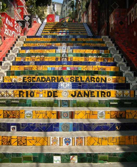 escadaria selaron rio