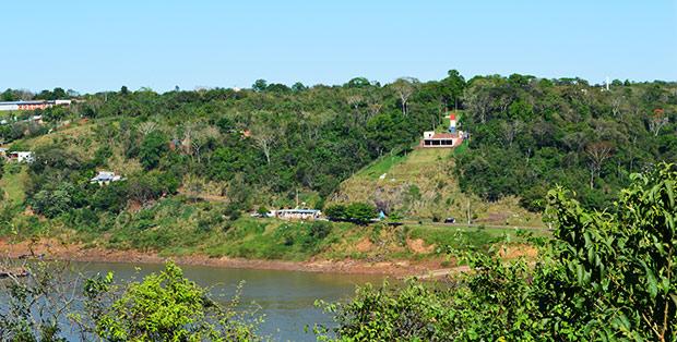 Marco das Tres Fronteiras Paraguaio