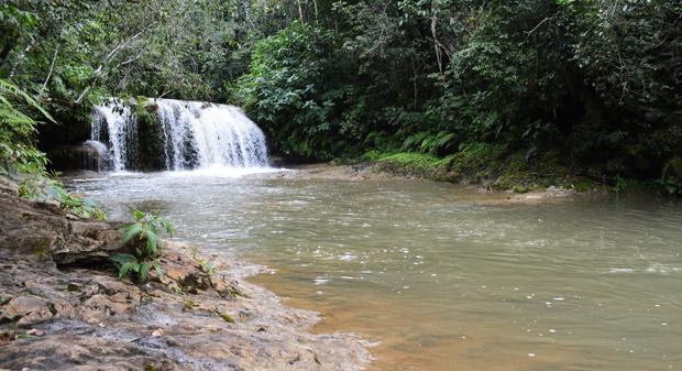 cachoeira da hidromassagem