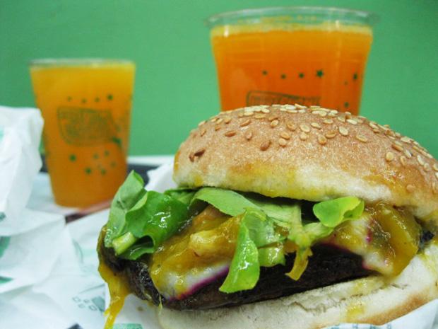 hamburguer vegetariano copacabana