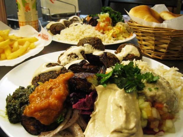 falafel pittas