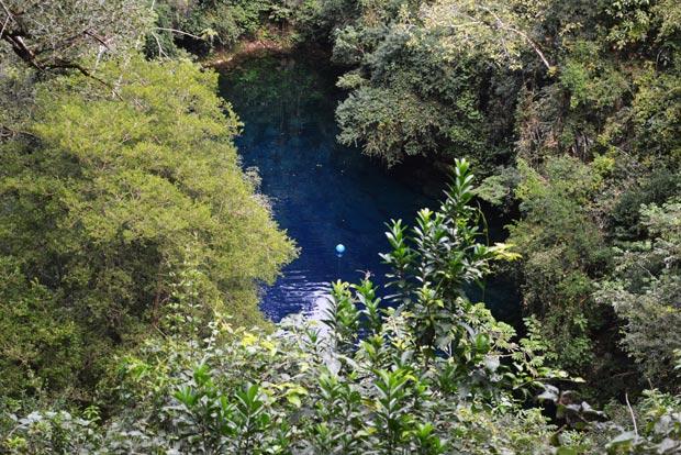 lagoa misteriosa trilha