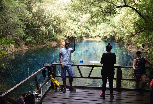 estrutura lagoa misteriosa
