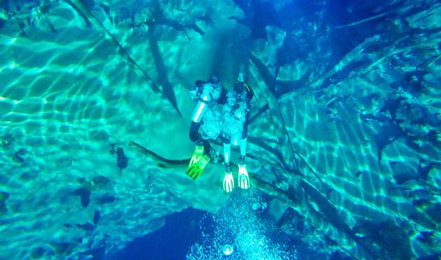 lagoa misteriosa mergulho