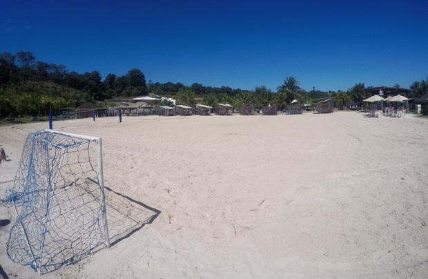 praia em goias