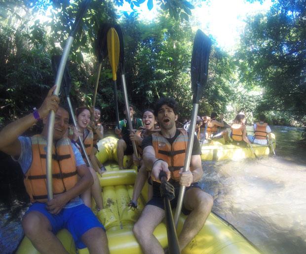 rafting em caldas novas