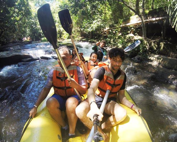 rafting rio quente resorts