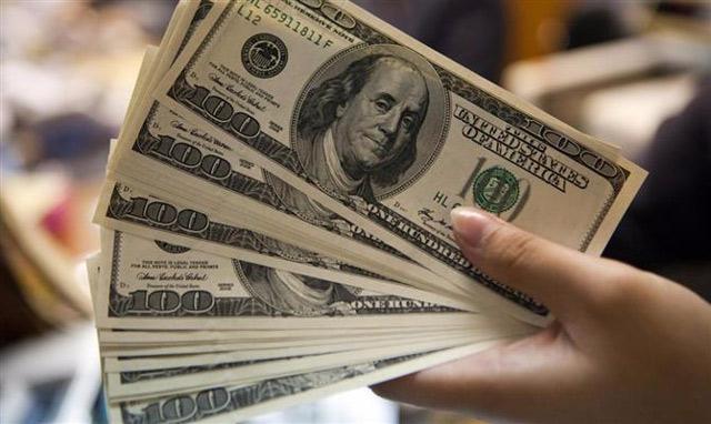 notas de dolares