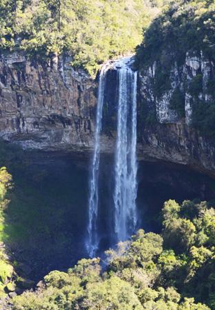 trilha cascata do caracol