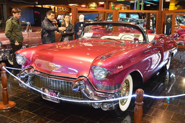 museu com carros