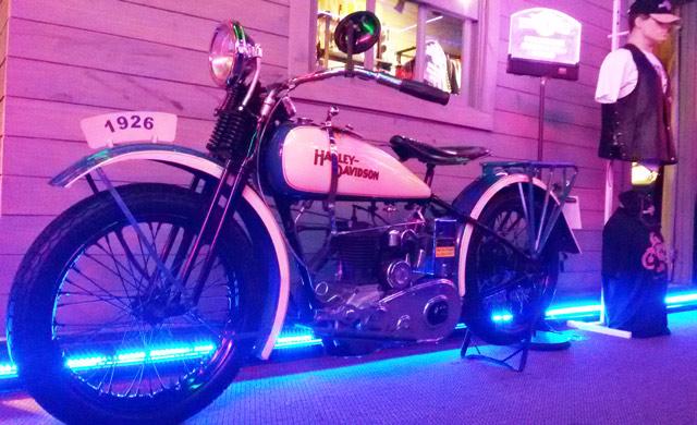 moto antiga harley davidson
