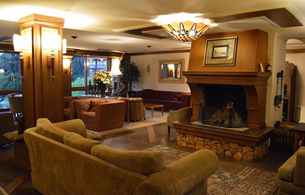 hotel alpestre sala de estar
