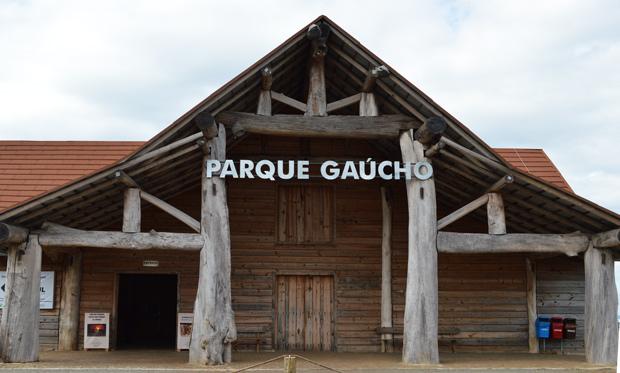 entrada parque gaucho