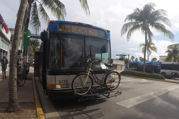 miami bus bike