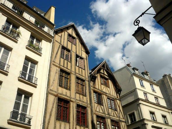 casa antiga em paris