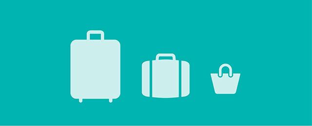 o que levar bagagem de mao