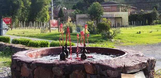 fonte jorrando vinho
