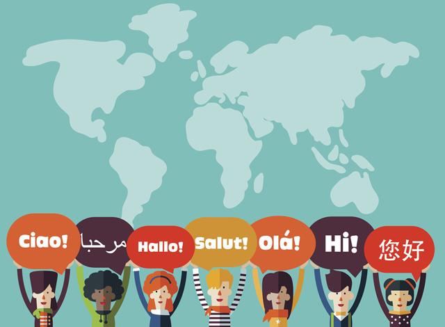 linguas mais faladas no mundo