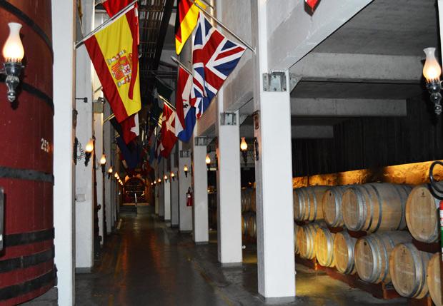 vinho em barril