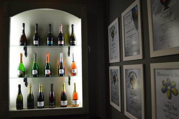 vinhos da marca aurora