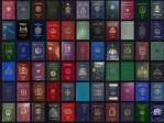 diversos passaportes