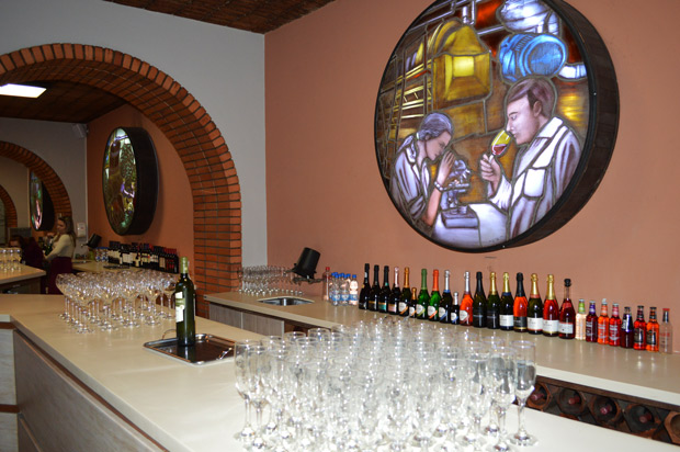 sala de degustacao de vinho