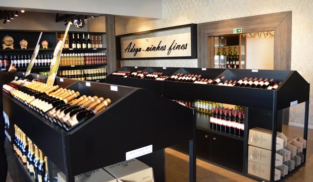 melhor loja de vinhos