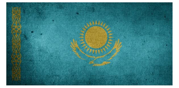 bandeira do cazaquistao